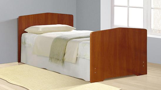 Кровать Фант с фигурной спинкой ЛДСП в Челябинске