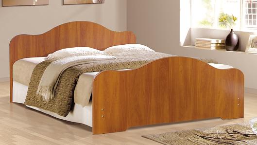 Кровать Фант с фигурная ЛДСП в Челябинске