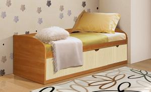 Кровать с тремя ящиками Фант ЛДСП в Челябинске