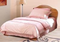 Кровать Фант с фигурной спинкой МДФ односпальная в Челябинске