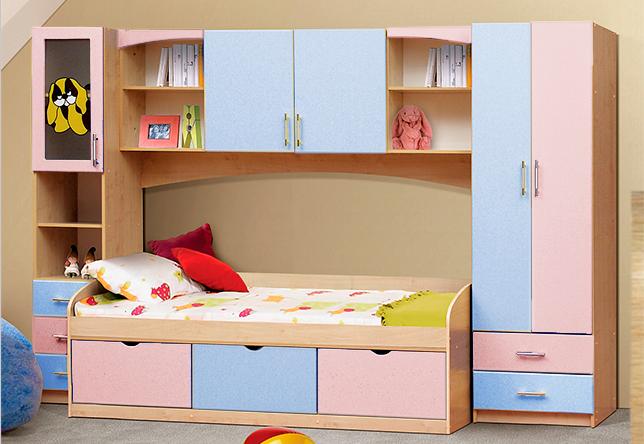Набор детской мебели Омега 7 в Челябинске