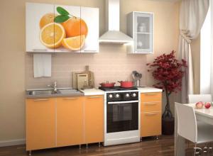 Кухня Фотофасад 1500 в Челябинске