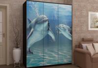 Шкаф дельфины фотопечать в Челябинске