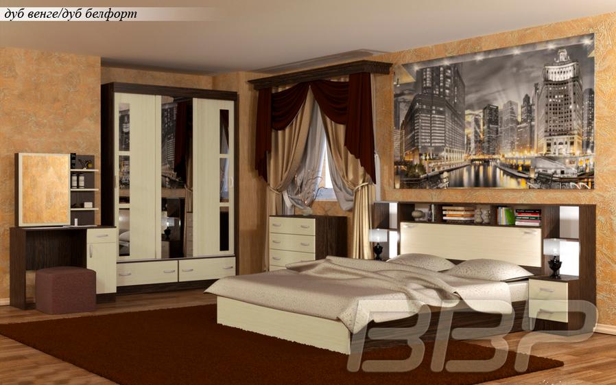 Спальный гарнитур Грация 1 в Челябинске