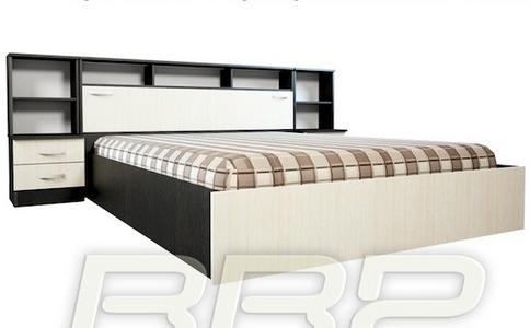 Кровать Герда с прикроватным блоком в Челябинске.