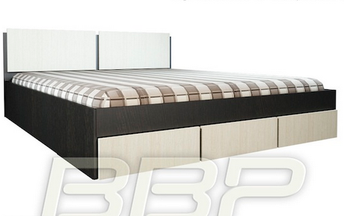Кровать Грация с ящиками в Челябинске