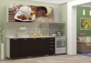 Кухня фотопечать 2000 058 (глухая) в Челябинске