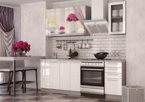 Кухня София розы/белый 1600 ИЦ в Челябинске