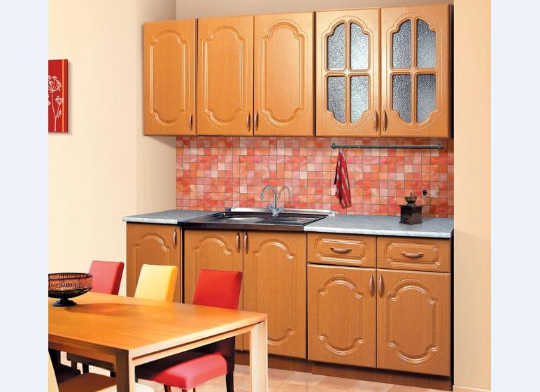 кухня Диана 3.1 Фант матовый вишня в Челябинске
