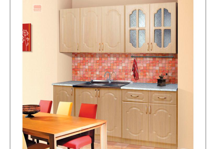 Кухня Диана 3.1 Фант млечный дуб в Челябинске