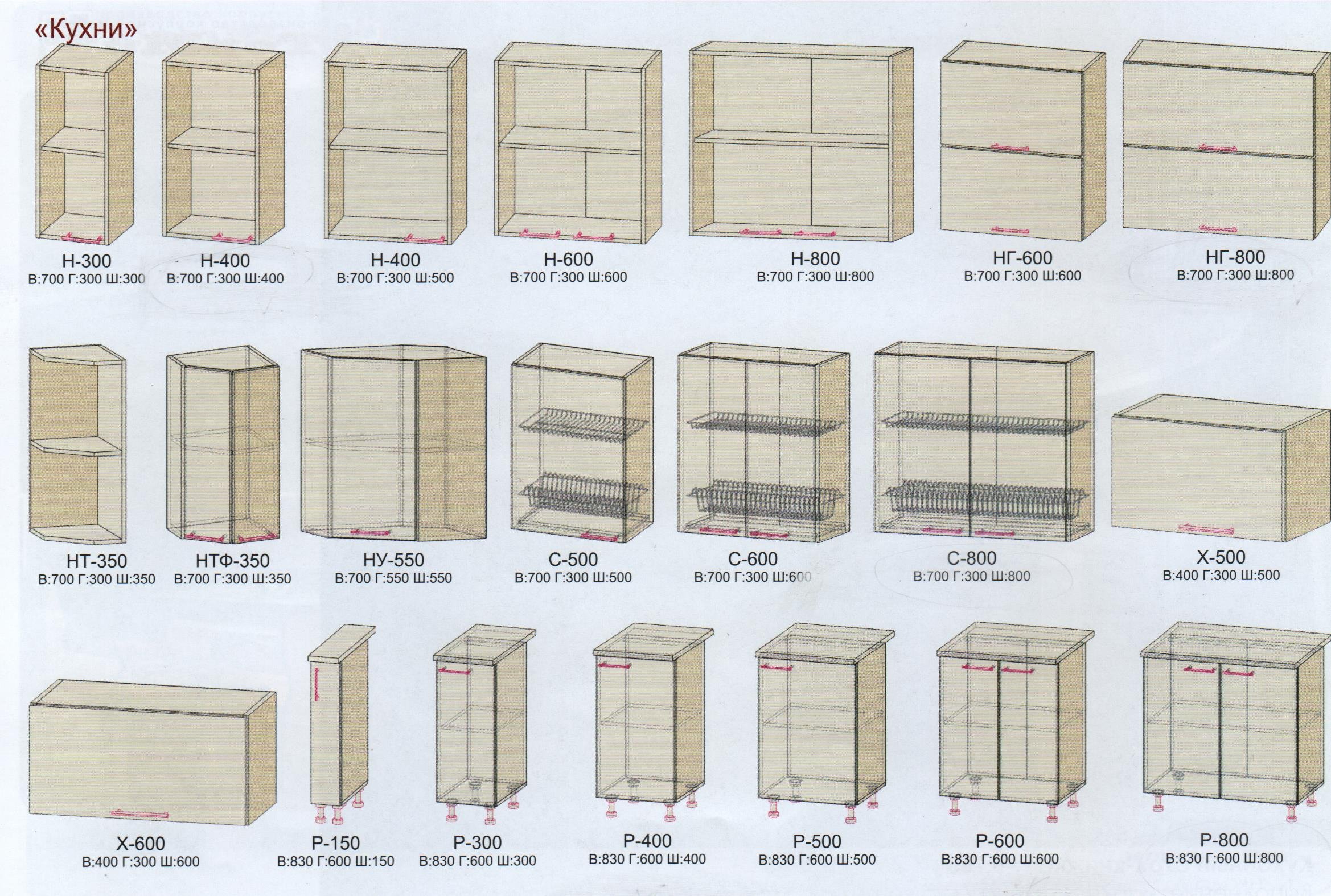 здесь режиме кухонные модули стандартные размеры чертежи фото картине