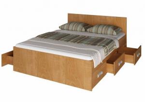 Кровать Юнона с выдвижными ящиками в Челябинске