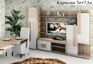 Стенка Карисма 7.1А МДФ в Челябинске