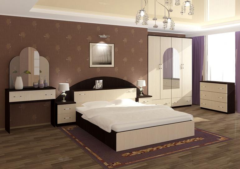 Спальня Александра ЛДСП 058 в Челябинске