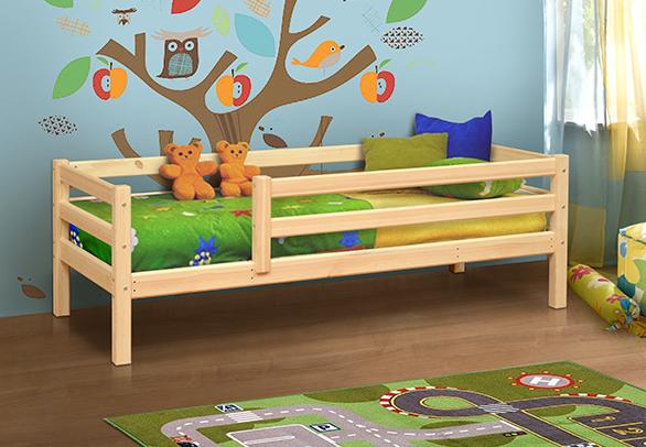 Детская кровать из массива дерева 3 в Челябинске