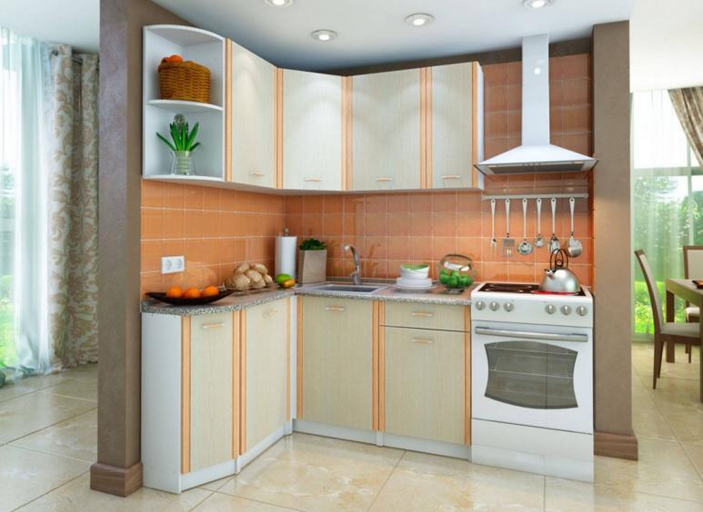 кухня бланка угловая левая