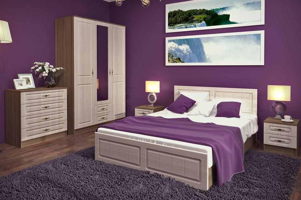 Спальня Ницца 3 ДСВ в Челябинске