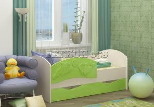Кровать детская Дельфин 3 058 в Челябинске