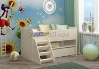 Детская кровать Юниор 3 ЛДСП в Челябинске