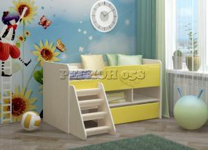Детская кровать Юниор 3 МДФ в Челябинске