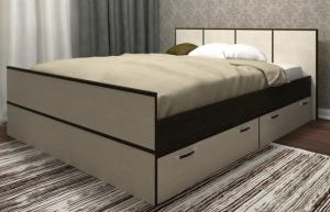 Кровать Весна 1400/1600 ДСВ в Челябинске
