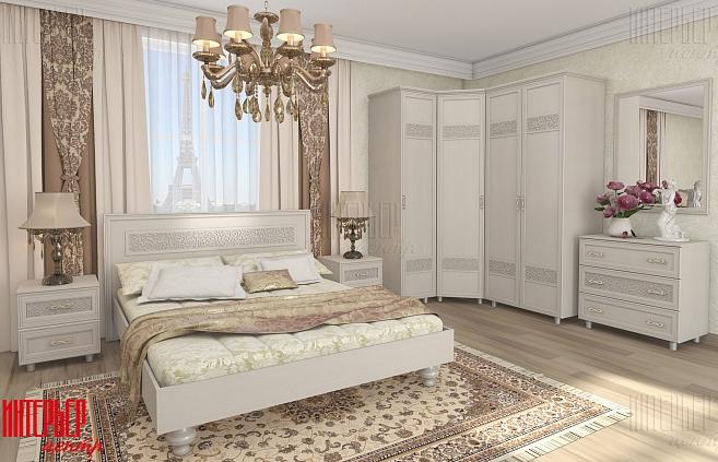 Спальный гарнитур Виктория 2 ИЦ в Челябинске