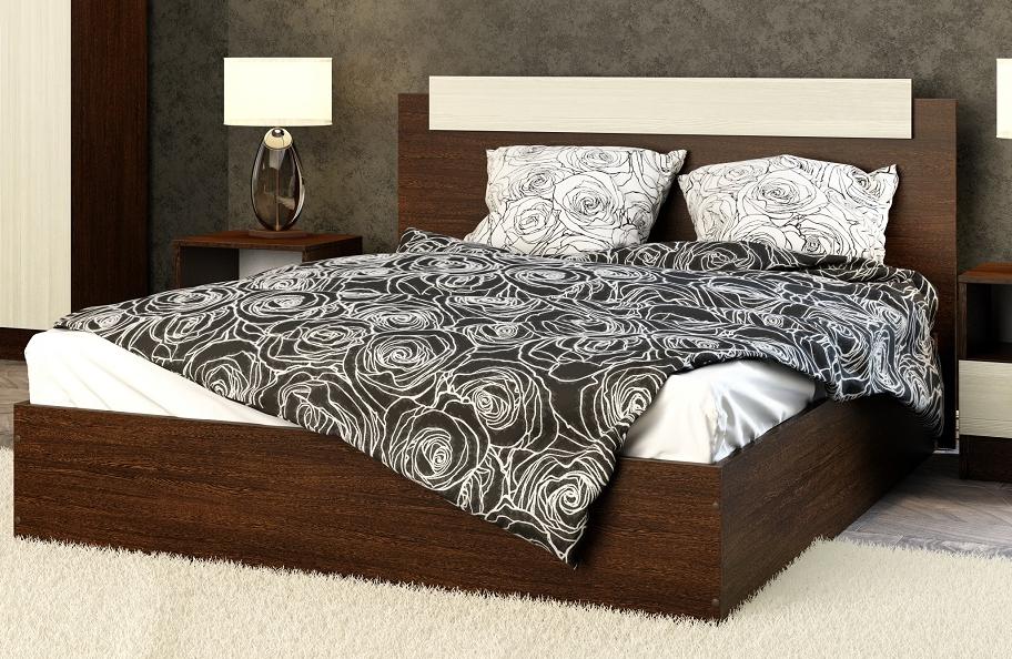 Кровать Эко 1600 венге в Челябинске