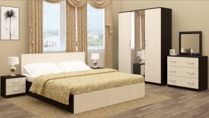 Спальня Зиля ЛДСП 1400/1600 Регион058 в Челябинске