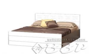 Кровать Афина МДФ ВВР белый в Челябинске