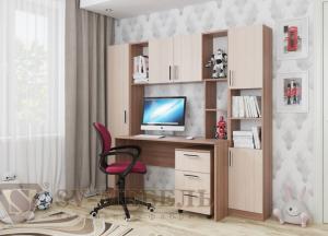 Компьютерный стол КС-7 модульный СВ в Челябинске