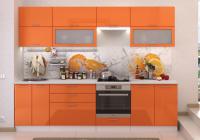 Кухня Ксения Стендмебель оранж в Челябинске