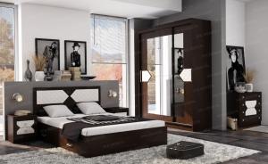 Спальня Николь Эра лиственница светлая/венге в Челябинске
