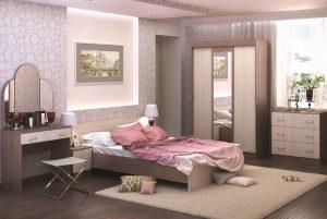 Спальня Бася модульная Стендмебель шимо в Челябинске