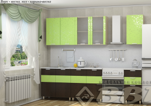 Кухня ВВР Карина-Весна 2000 мм. в Челябинске