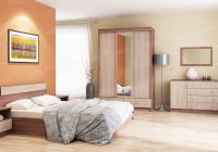 Модульная спальня Памир вариант 16 в Челябинске