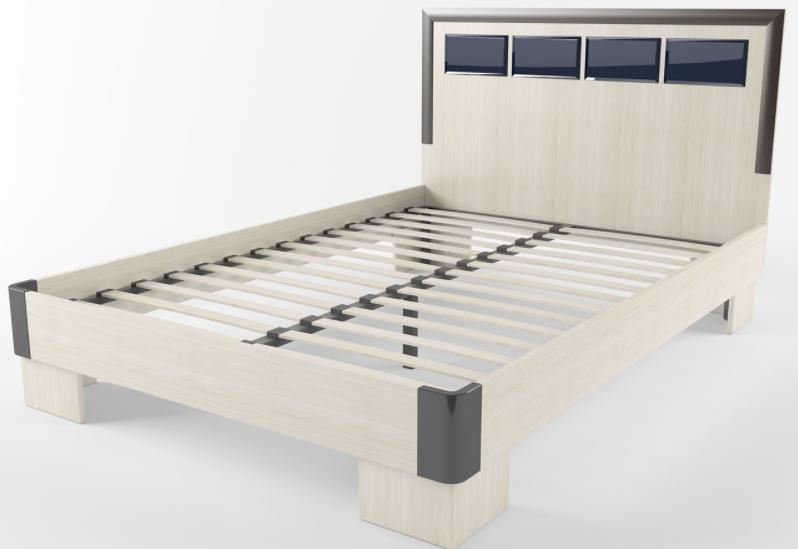 Кровать с ортопедическим основанием Венера в Челябинске