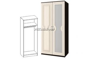 Шкаф 2-ств. платяной Зиля МДФ 058 в Челябинске