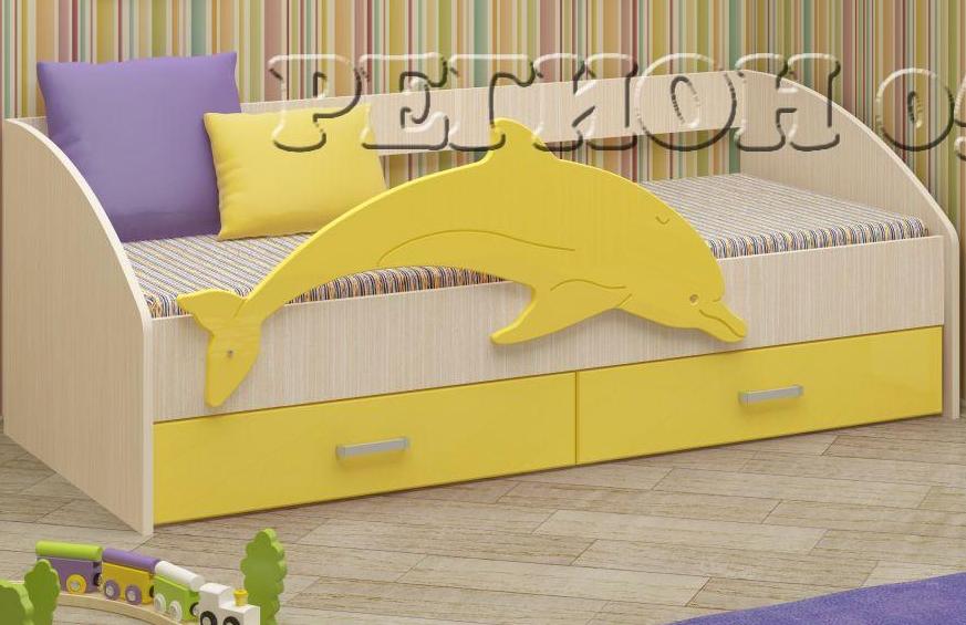 Кровать Дельфин 4 МДФ 058 в Челябинске