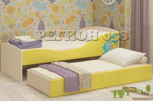 Кровать Юниор 10 выкатная МДФ 058 в Челябинске