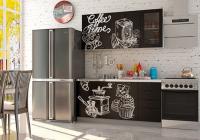 Кухня Coffee Time 1600 декор 2 в Челябинске