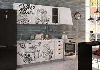 Кухня Coffee Time 1800 декор 2 в Челябинске