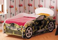 Кровать детская Омега 12 хаки ЛДСП в Челябинске