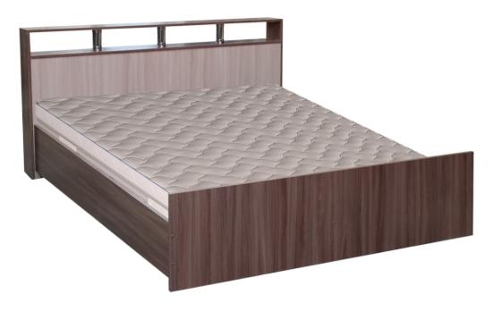 Кровать Троя Досто шим темный/светлый в Челябинске